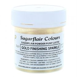 Sugarflair Powder Puff Lustre Refill - Gold Finishing Sparkle 25g