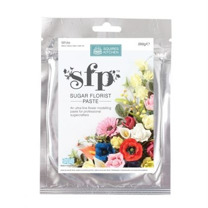 Squires Sugar Florist Paste (SFP) - White - 200gr.