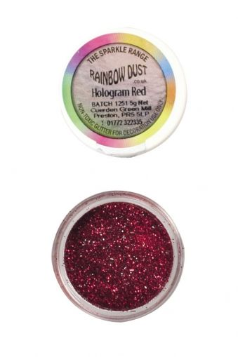Rainbow Dust - Sparkle Range - ЛАВАНДУЛА ХОЛОГРАМ - Lavender Hologram