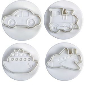 Plunger cutters Travel 4 piece