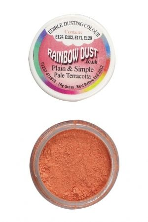 Rainbow Dust Plain and Simple Dust Colouring - Pale Terracotta