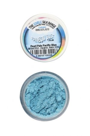 Rainbow Dust - Pearl Pale Pacific Blue