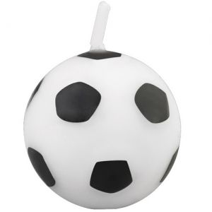 Soccer Ball Candle - 6pc