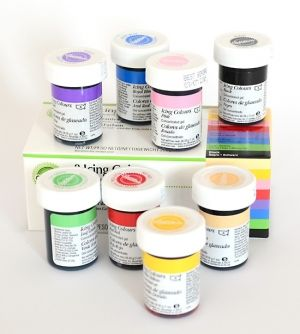 Wilton 8 ICING COLOR SET