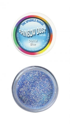 Rainbow Dust - Sparkle Range - КРИСТАЛНО СИНЬО  - Crystal Blue