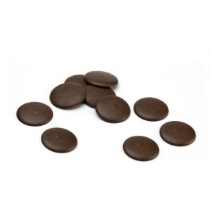 Belgian chocolate couverture - DARK - 0.400kg.