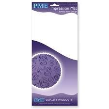 PME Impression Mat - Rose