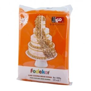 FO Coating Dough ORANGE - 1kg.
