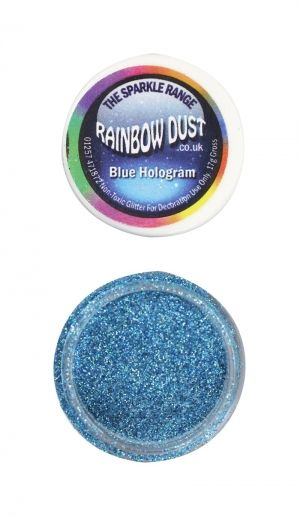 Rainbow Dust - Sparkle Range - СИН ХОЛОГРАМ - Blue Hologram