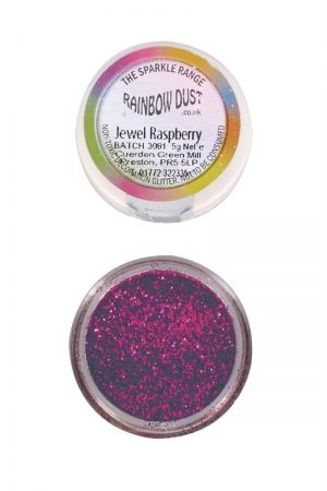 Rainbow Dust - Sparkle Range - БЛЯСЪК МАЛИНА -  Jewel Raspberry