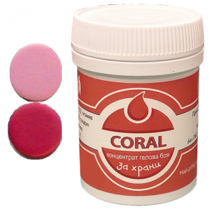Sly Commerce - Max Concentrate Paste Colour CORAL