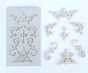 Silicone Moulds - Ornaments 2