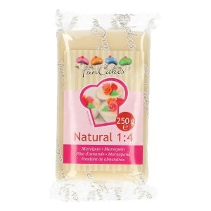 FUNCAKES MARZIPAN NATURAL 1:4 READY-TO-ROLL -250G