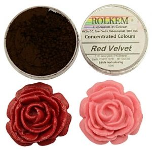 Rolkem Concentrated duster colours 10ml -  ЧЕРВЕНО КАДИФЕ / Red Valvet