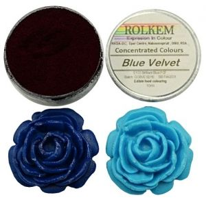 Rolkem Concentrated duster colours 10ml -  СИНЬО КАДИФЕ / Blue Valvet