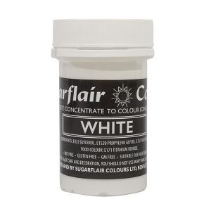 Sugarflair - Max Concentrate Paste Colour WHITE