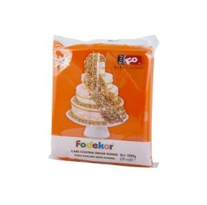 FO Coating Dough ORANGE - 0.250 kg.