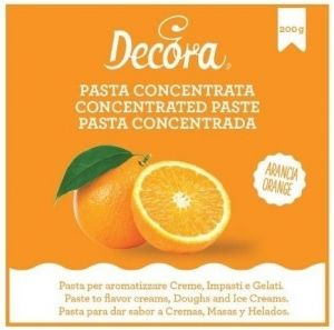 Orange concentrated flavouring cream 200 gr