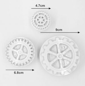 Plunger Cutters Travel 3 piece - GEARS