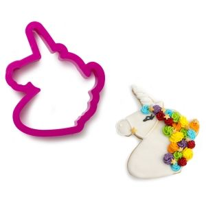 UNICORN PLASTIC COOKIE CUTTER