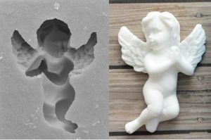 Silicone Mould - ANGEL 1