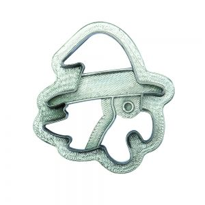 EPIPHANY WITCH PLASTIC COOKIE CUTTER 8 XH 2.2 CM