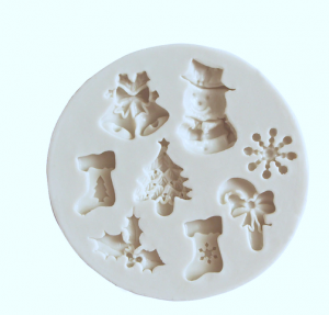 Silicone Mold CHRISTMAS COOKIES