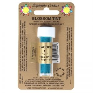 Sugarflair Blossom Tint Dusting Colours - Peacock
