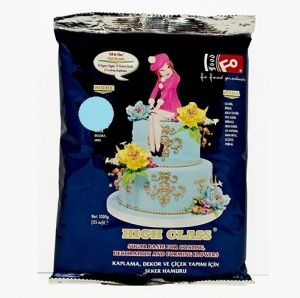 FO Coating Dough  BABY BLUE - 1kg.