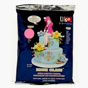 FO Hight Class Coating Dough  PINK - 1kg.